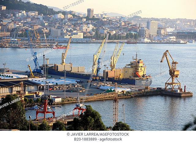 Port, Vigo, Pontevedra province, Galicia, Spain