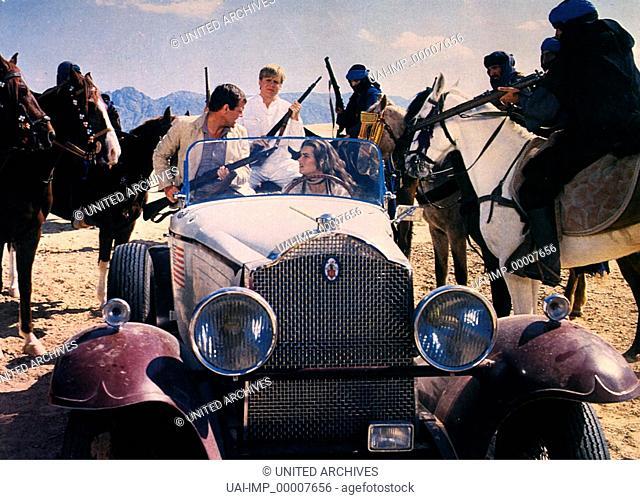 Sahara, (SAHARA) USA 1982, Regie: Andrew V. McLaglen, BROOKE SHIELDS (mi), Stichwort: Pferde, Oldtimer, Gewehre
