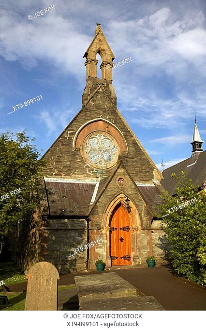 st augustines church of ireland parish church built on the walls of the walled city of derry county londonderry northern ireland uk