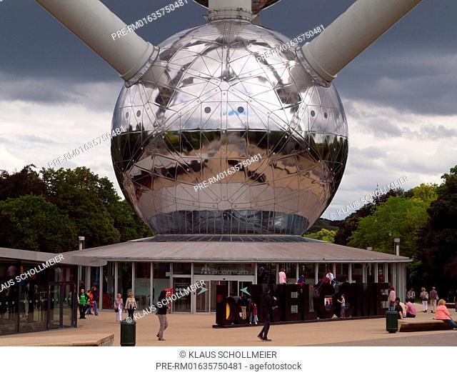Atomium, Brussels, Belgium, July 2015 / Atomium, Brüssel, Belgien, Juli 2015