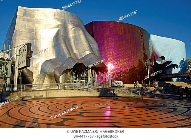 Experience Music Project museum, designed by architect Frank Gehry, Seattle, Washington, USA