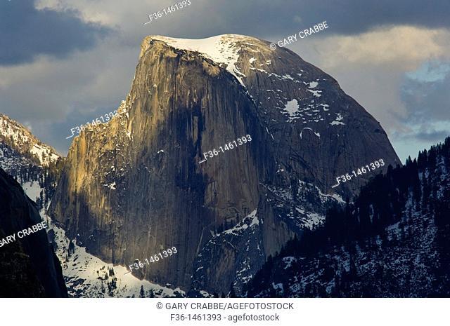 Half Dome in Spring, Yosemite Valley, Yosemite National Park, California a