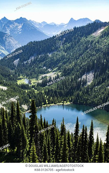 Lake Ann, near Rainy Pass, North Cascades, Washington, USA