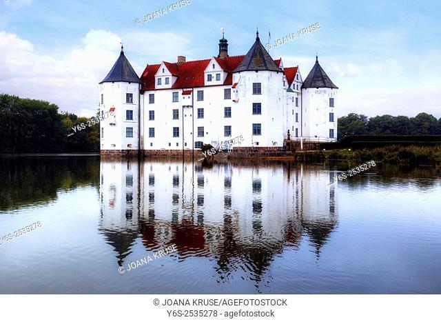 Gluecksburg Castle, Schleswig-Holstein, Germany