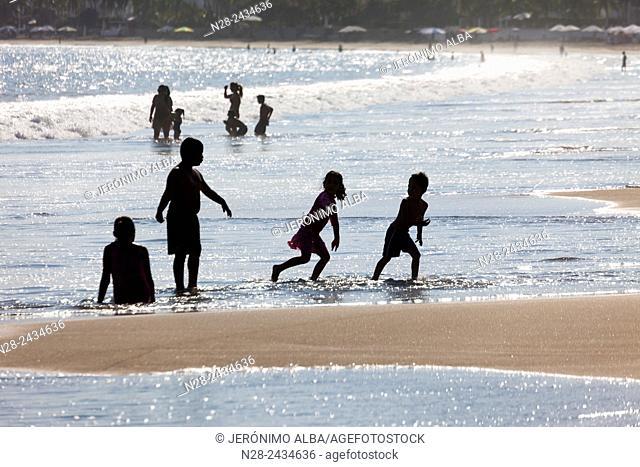 Manzanillo beach. Pacific Ocean. Colima. Mexico