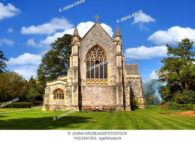 St Saviour church, Brockenhurst, Hampshire, England, UK