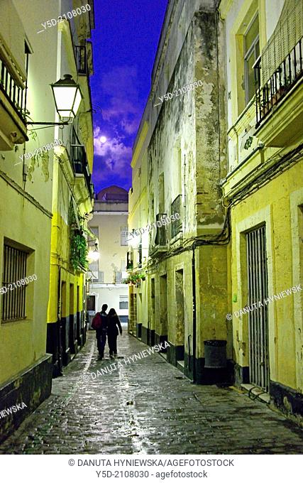 old town of Cadiz, Andalusia, Spain