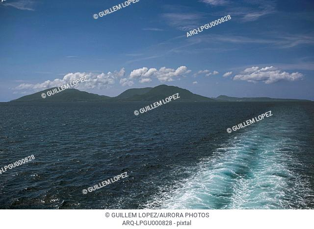 View Of The Island Of Pulau Weh From The Distance, Banda Aceh, Sumatra, Indonesia