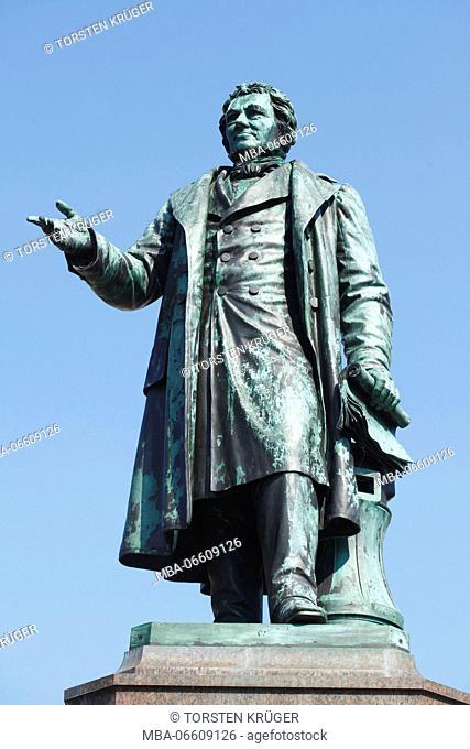 Bürgermeister-Smidt-Denkmal (monument), Bremerhaven, Bremen, Germany