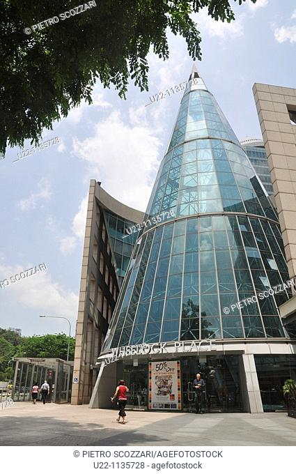Singapore: Wheelock Place mall and office tower along Orchard Road