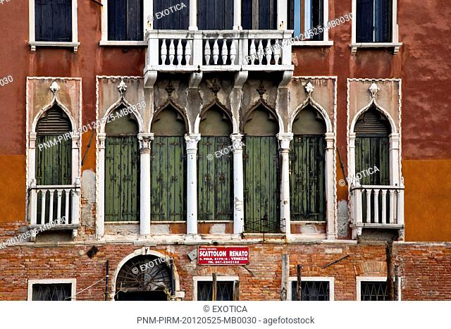 Low angle view of a building, Venice, Veneto, Italy