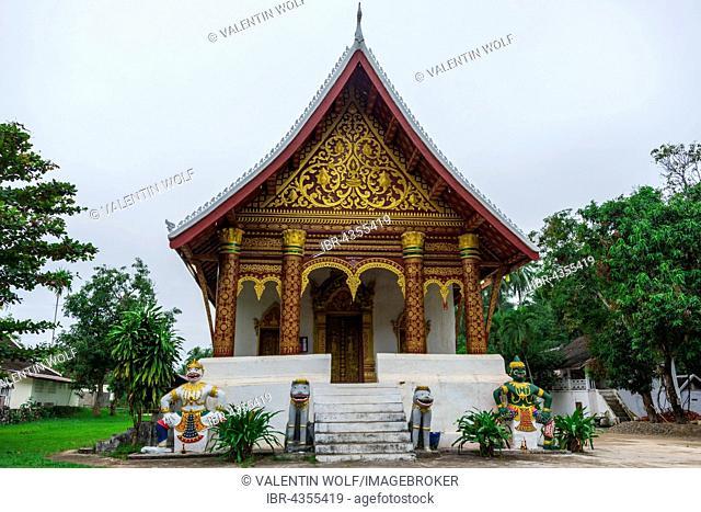 Buddhist temple Wat Wisunalat, Luang Prabang, Louangphabang, Laos