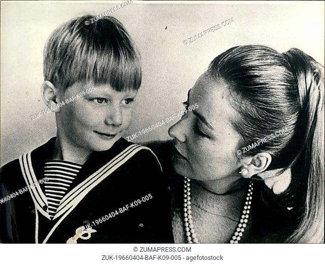 Apr. 04, 1966 - Little Prince Philippe is 6' Little Prince Philippe son of Princess Paola and Prince Albert of Belgium, celebrated his 6th birthday today