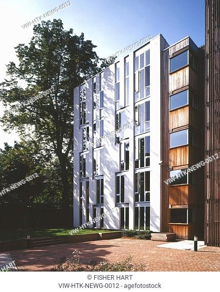 200-room student housing regeneration project located within the Newington Green Conservation Area