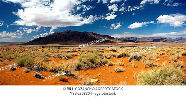 Wolwedans Landscape (Panoramic Composite Image) - NamibRand Nature Reserve - Hardap Region, Namibia, Africa