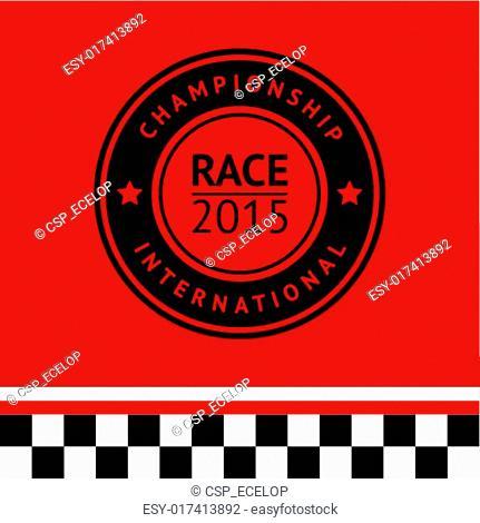 Racing stamp-05
