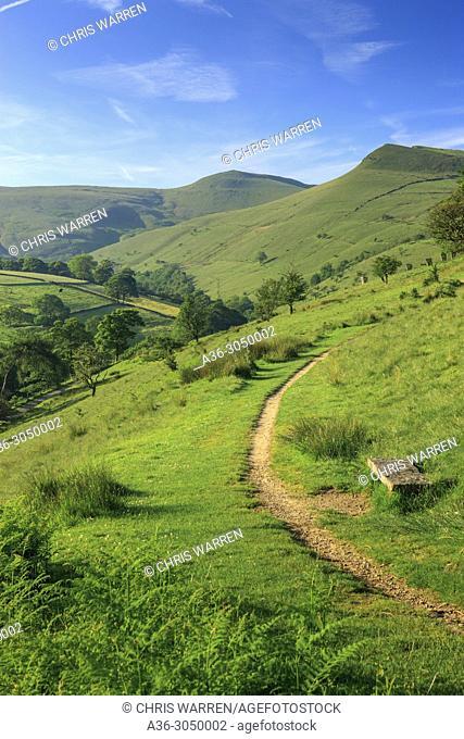 Hayfield High Peak Derbyshire England