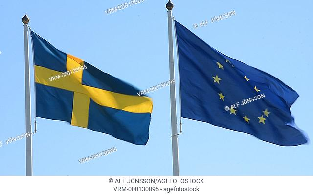 Flags, EU och Swedish