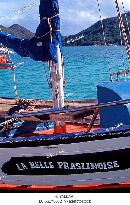 Boat in Seychelles