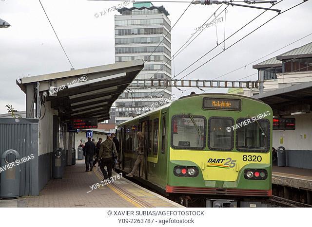 Tara Street station, Dublin, Leinster, Ireland