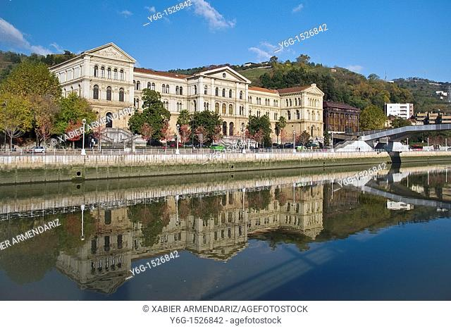 Unniversity of Deusto, Bilbao, Biscay province, Basque country, Euskadi, Spain, Europe