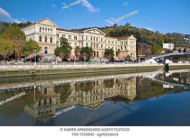 Unniversity of Deusto, Bilbao, Biscay province, Basque country, Euskadi, Spain, Europe