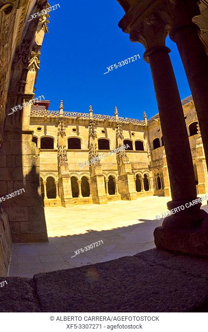 Monastery of San Estevo de Ribas de Sil, Spanish Property of Cultural Interest, Spanish National Heritage Site, Tourism Parador Spanish Luxury Hotel