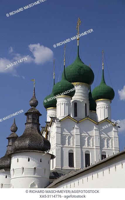 Gate Church of St. John the Devine, Kremlin, Rostov Veliky, Golden Ring, Yaroslavl Oblast, Russia