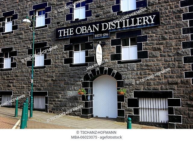 Scotland, Oban City, Oban Distillery