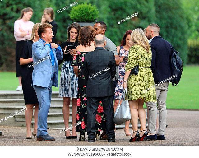 ITV Summer Reception at The Orangery at Kensington Palace - Arrivals Featuring: Lorraine Kelly, Mark Heyes, Andi Peters, Wayne Sleep Where: London