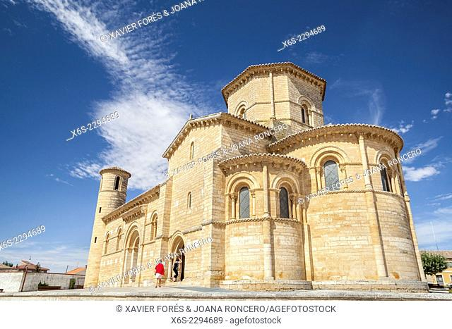 Churc of San Martin in Fromista, Way of St. James, Palencia, Spain