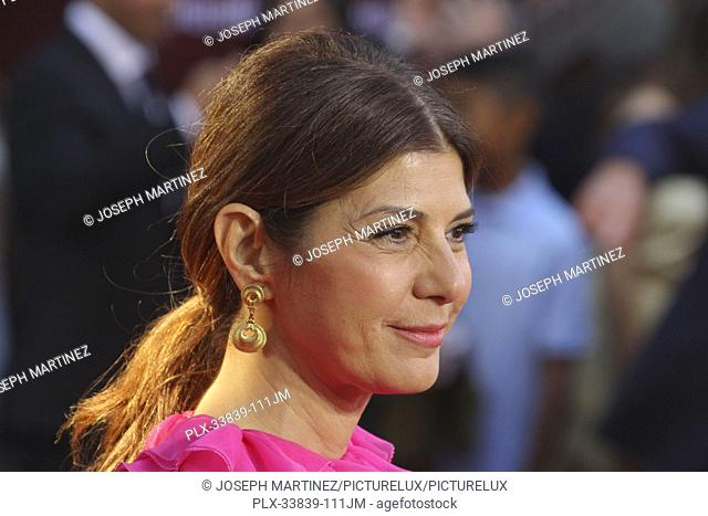 """Marisa Tomei at Columbia Pictures' and Marvel Studios' """"""""Spider-Man Far From Home"""""""" World Premiere held at the TCL Chinese Theatre in Hollywood, CA, June 26"""