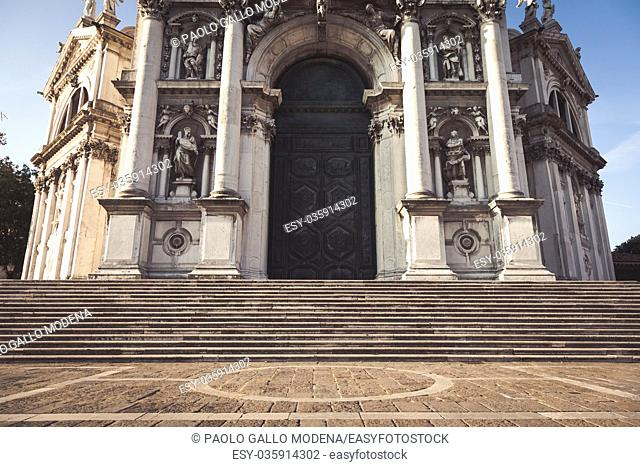 One of the most beautiful church in Venice, traditional landmark of the city