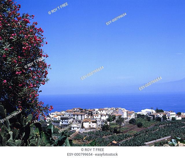 Agulo, small village in La Gomera, Canary Islands, Spain