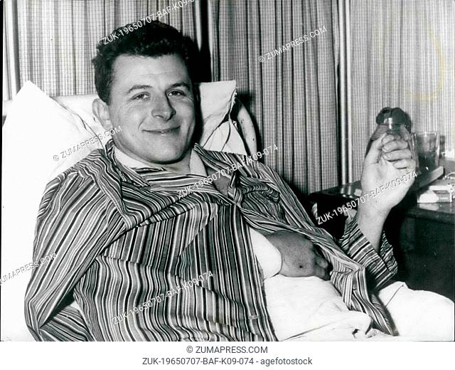 Jul. 07, 1965 - Policeman Wounded in Kensington Gum Drama - Making Good Progress.. Doctors operated today on P.C. Michael Wheelhouse - the 28 year old policeman...