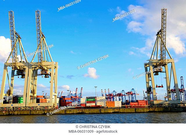 Hamburg Port Features: Container Terminal HHLA