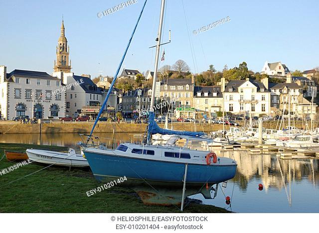 Bretagne, port de Binic