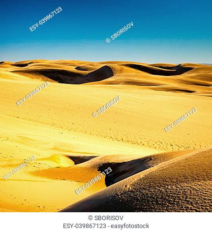 Sand dunes, pismo beach, California
