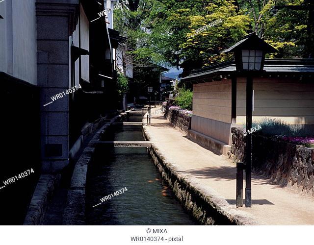 Shirakabe Dozo, Hida, Gifu, Japan