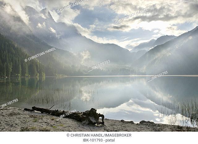 Antholzer lake, South Tyrol, Italy