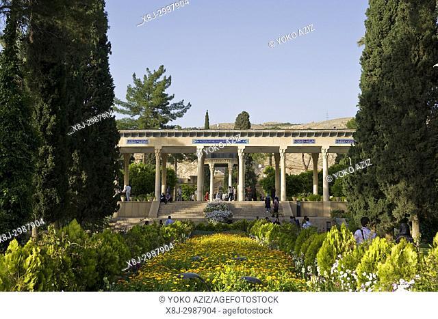 Iran, Shiraz, Hafez mausoleum