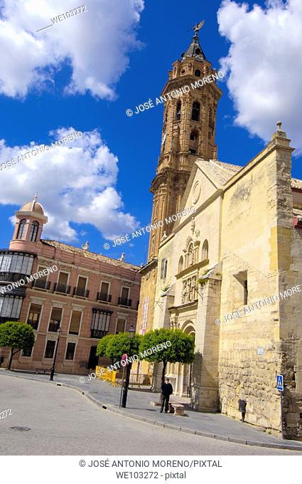 San Sebastian church, Antequera, Malaga province, Andalusia, Spain
