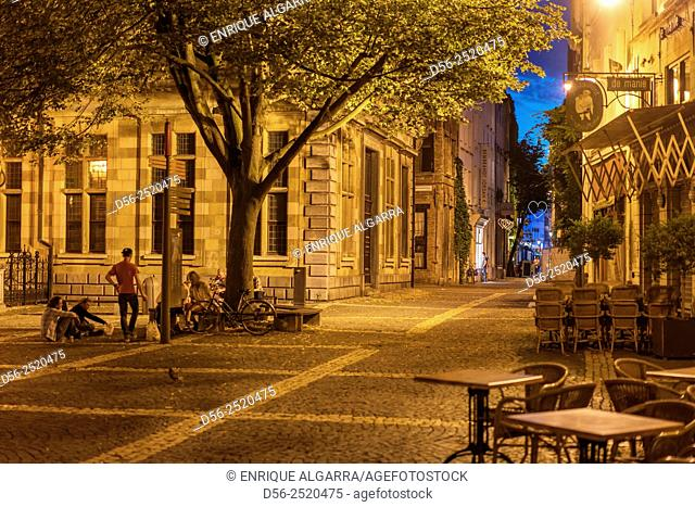 Antwerp by night, Belgium