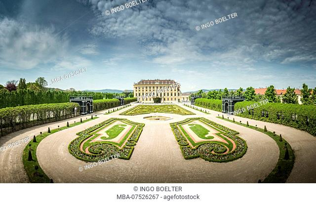 Europe, Austria, Vienna, Schönbrunn Palace