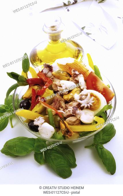 Frutti di Mare, seafood salad