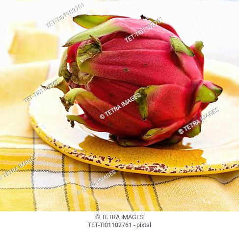 Pitahaya also called pitaya or dragon fruit
