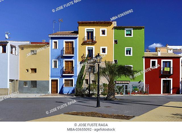 Spain, region Valencia, province Alicante, Villajoyosa, Costa Blanca