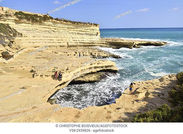 Malta, Marsaxlokk surroundings, Peter's pool