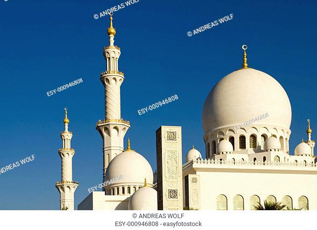 Moschee Abu Dhabi, VAE