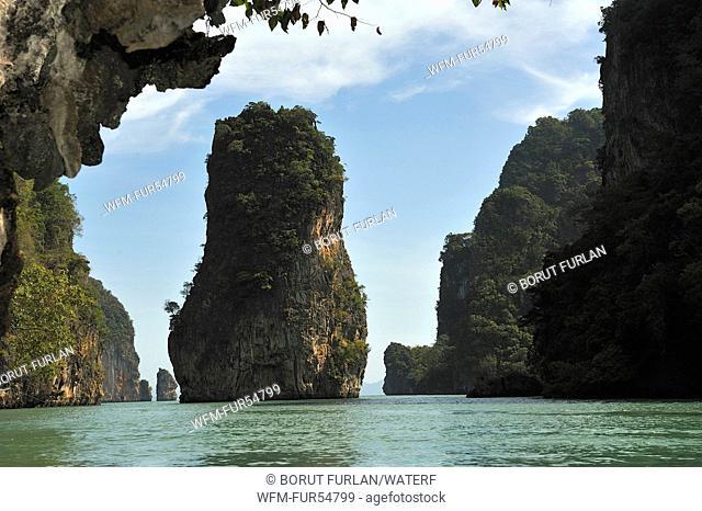 James Bond Rock at Phang Nga Bay, Phang Nga, Thailand